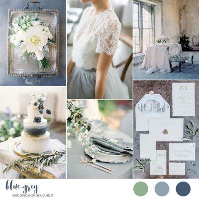 Inspiration board: Blue-Grey