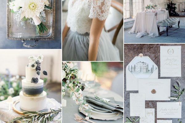 Inspiration board: Blue-Grey
