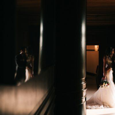 Un matrimonio ispirato al cinema