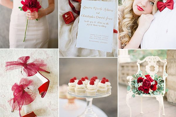 Inspiration board: Red Valentine