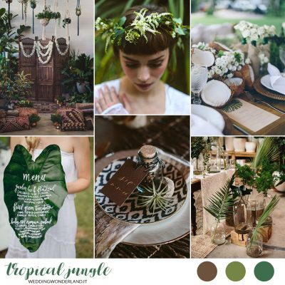 Inspiration board: Tropical Jungle