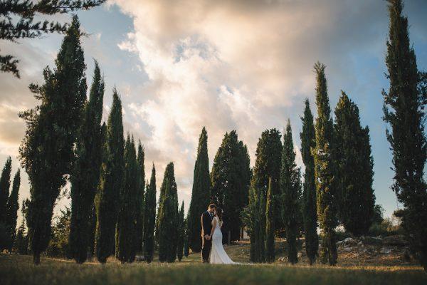 Un matrimonio rustico a Siena