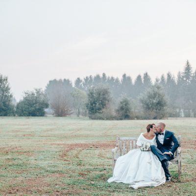 Love is brewing: un dolcissimo matrimonio in inverno