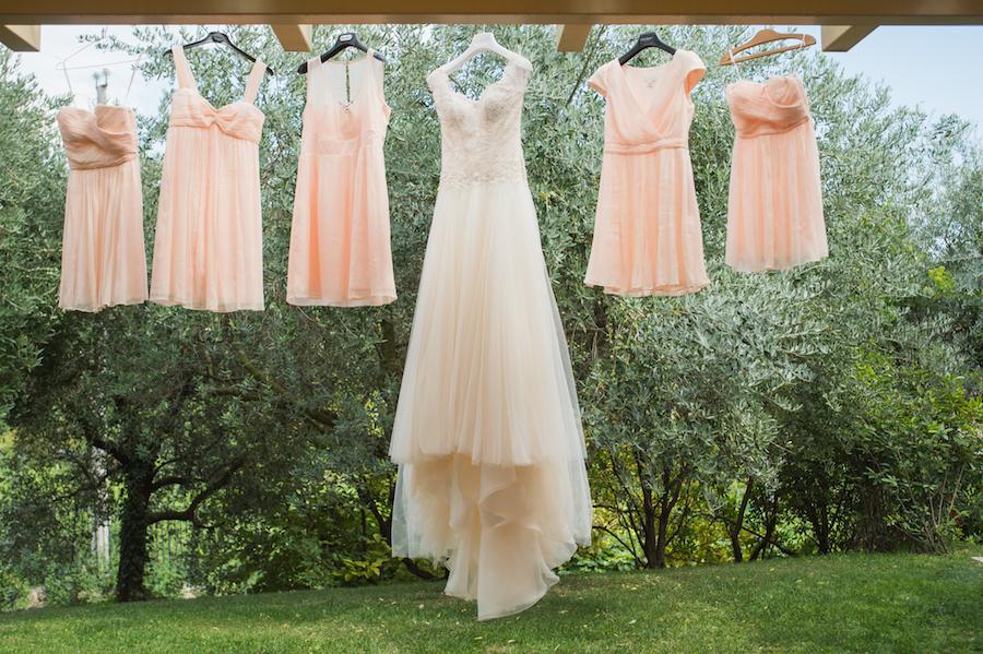 Colori pastello e dettagli retr per un matrimonio in - Matrimonio in giardino ...