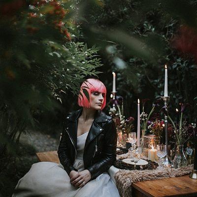 Ispirazione rock per la sposa non convenzionale