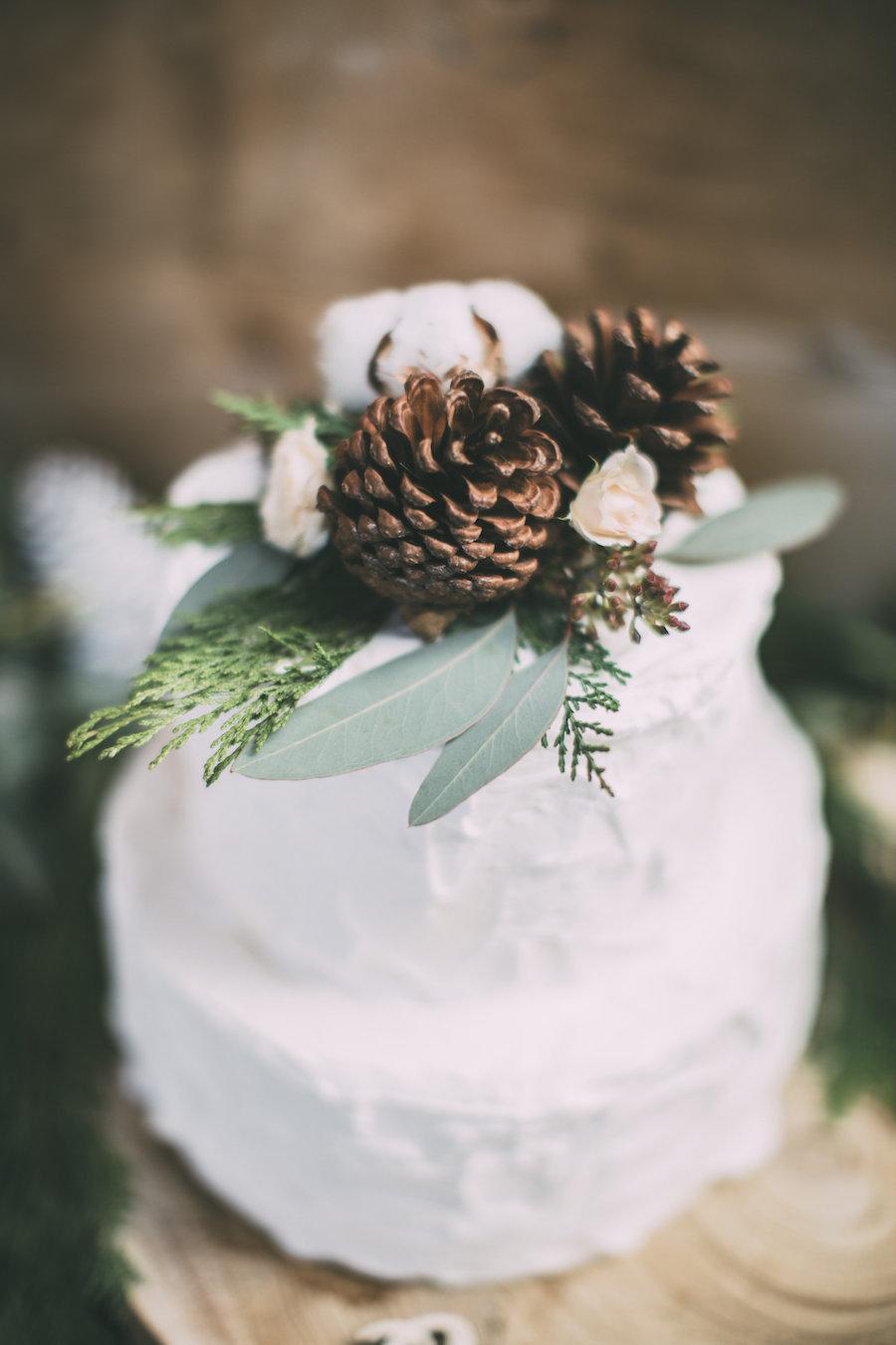 wedding cake invernale