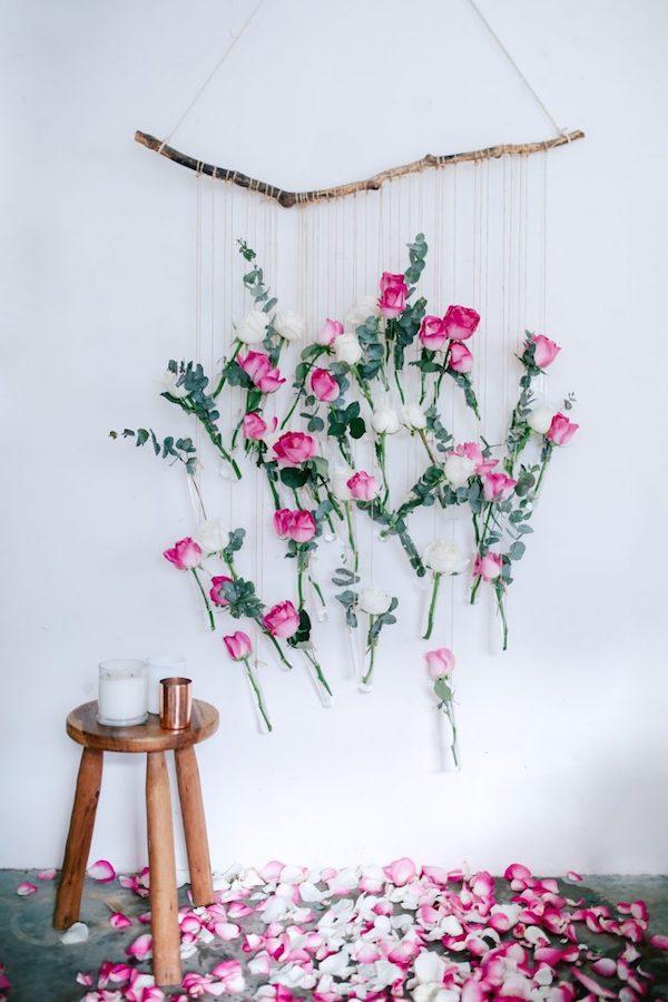 backdrop floreale fai da te