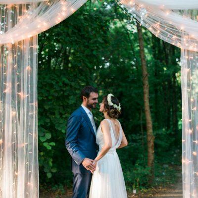 Un magico matrimonio nel bosco