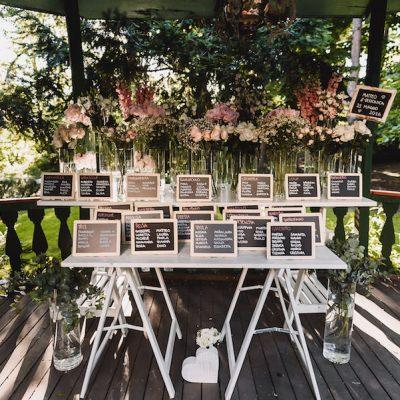 Un matrimonio ispirato ai fiori