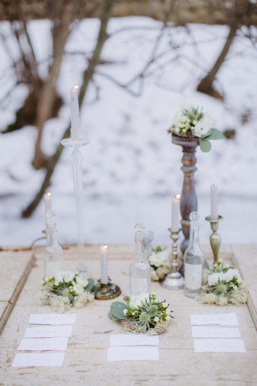 tableau de mariage invernale