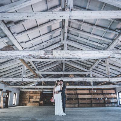 Un matrimonio pop industrial