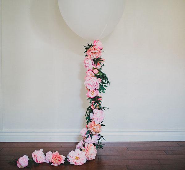 palloncino floreale fai da te