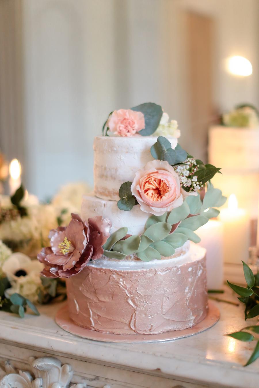 torta oro rosa