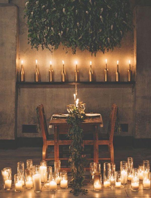 matrimonio industriale a lume di candela