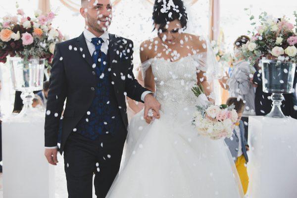 Un matrimonio di ispirazione marocchina