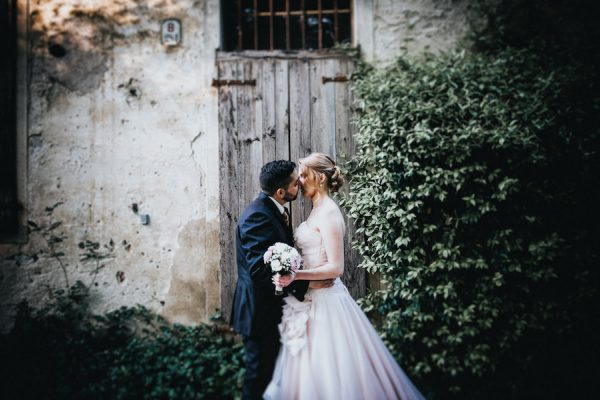 Un matrimonio romantico e primaverile