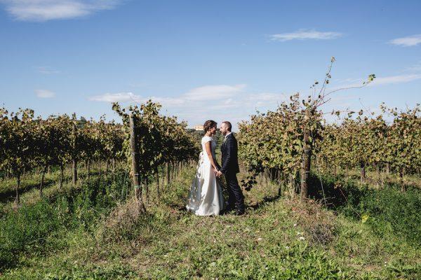 Un matrimonio rustico e fatto a mano