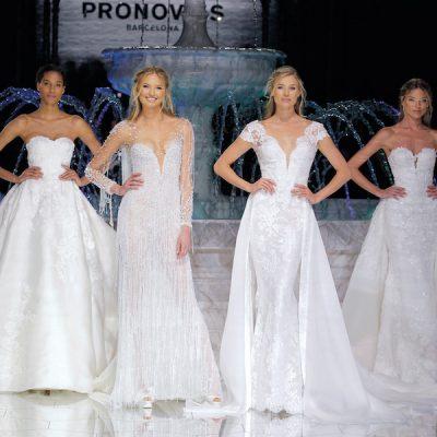 La sfilata di Pronovias alla Barcelona Bridal Week