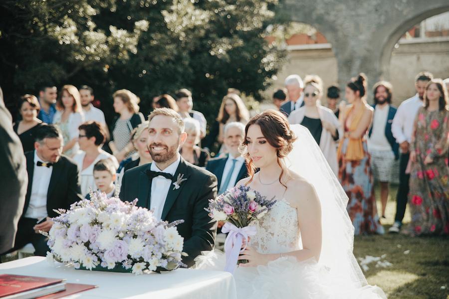 Matrimonio Tema Lavanda : Lavanda ed erbe aromatiche per un matrimonio a ravello