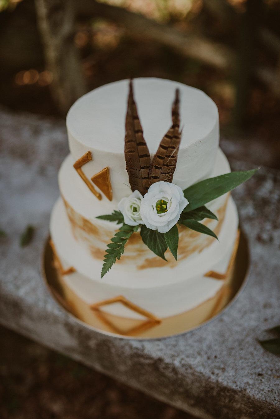 torta nuziale boho chic