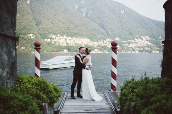 Un matrimonio botanico sul lago di Como