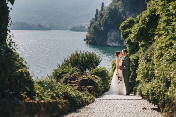 Un elopement sul lago di Como