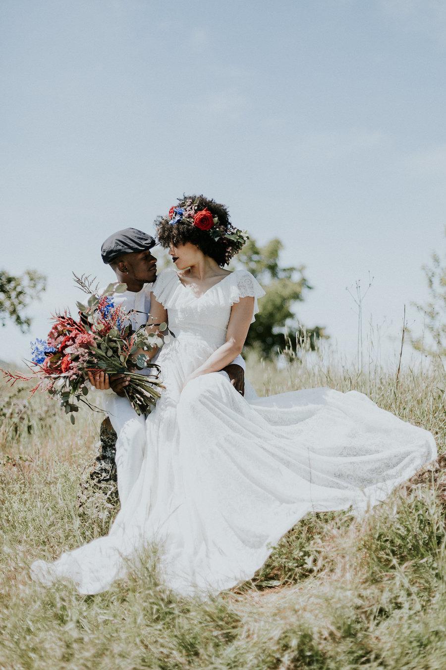 Foto Matrimonio Bohemien : Ispirazione boho in montagna wedding wonderland