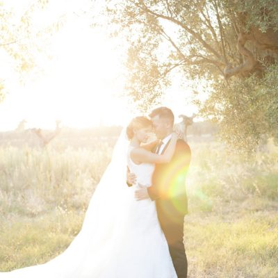 Ortensie azzurre per un matrimonio in Abruzzo