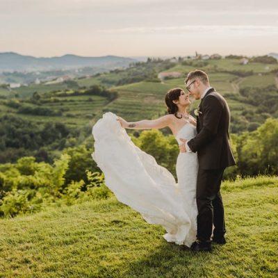 Un matrimonio tra romanticismo e dettagli rustici