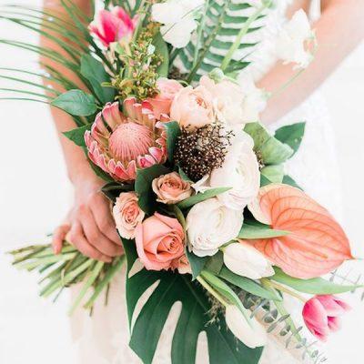 20 idee per un matrimonio tropicale