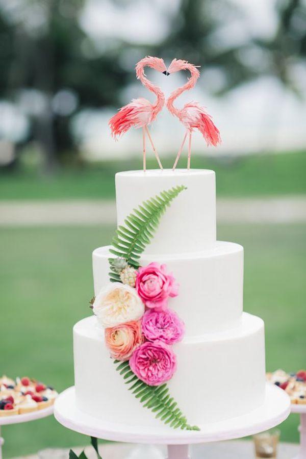 fenicotteri cake topper
