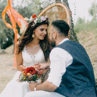 Un matrimonio di ispirazione gipsy