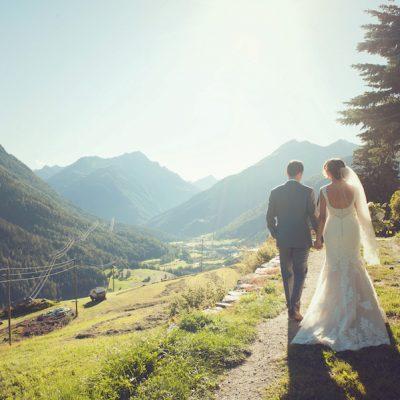 Un matrimonio intimo in montagna