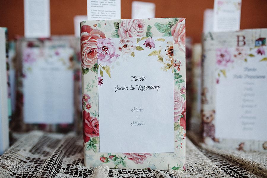 tableau de mariage con libri