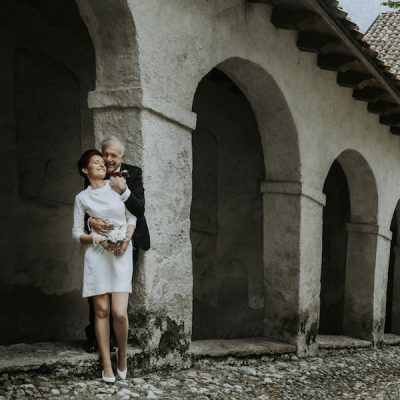 Un matrimonio autunnale in famiglia
