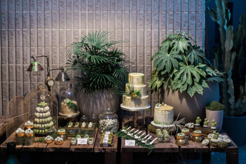 sweet table jungle