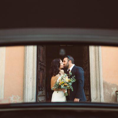 Un matrimonio bucolico e pieno di colori