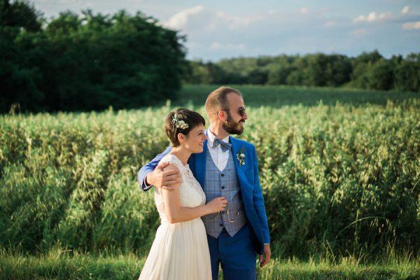 Fiori colorati per un matrimonio nel Chianti