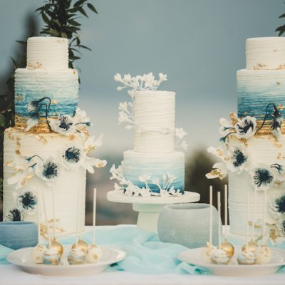 Oro, cristalli, minerali e una favolosa geode cake