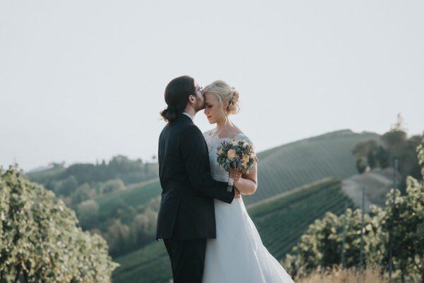 Un matrimonio in vigna sulle colline bolognesi