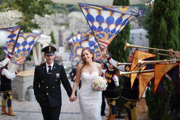 Un matrimonio vintage in castello
