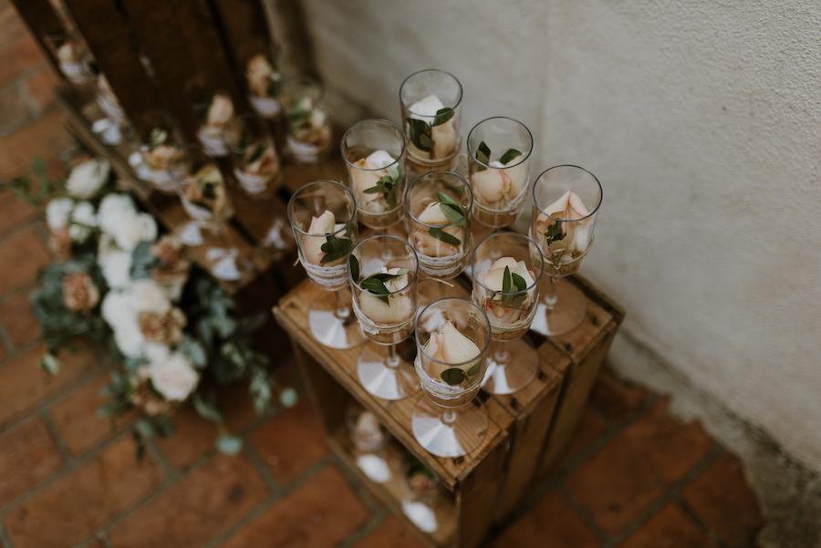 Matrimonio Tema Ulivo : Rosa antico e foglie d ulivo per un matrimonio rustico