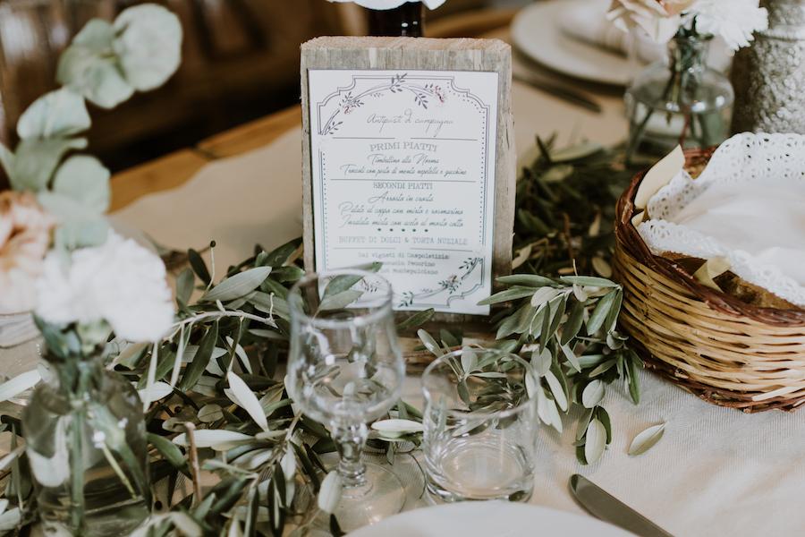 Matrimonio Rustico Colori : Rosa antico e foglie d ulivo per un matrimonio rustico