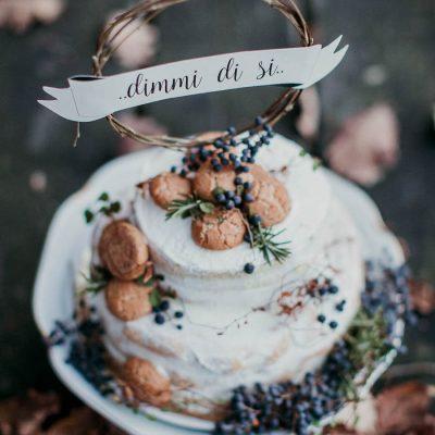 Una proposta di matrimonio in autunno