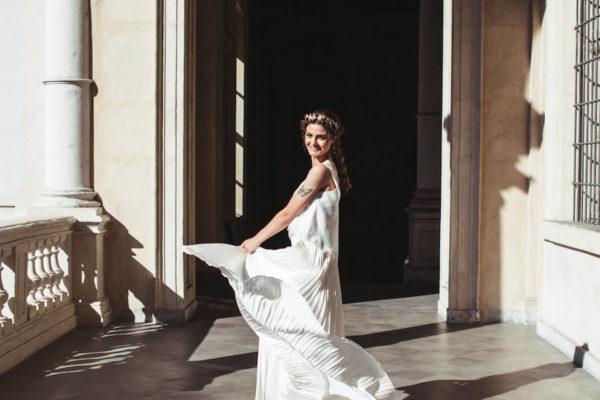 Gli dei innamorati – Un matrimonio ispirato all'antica Grecia