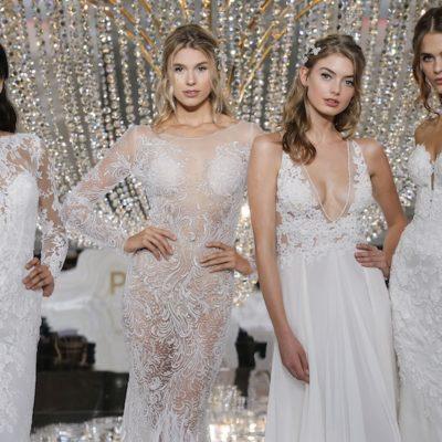 La collezione Atelier Pronovias 2018 alla New York Bridal Week