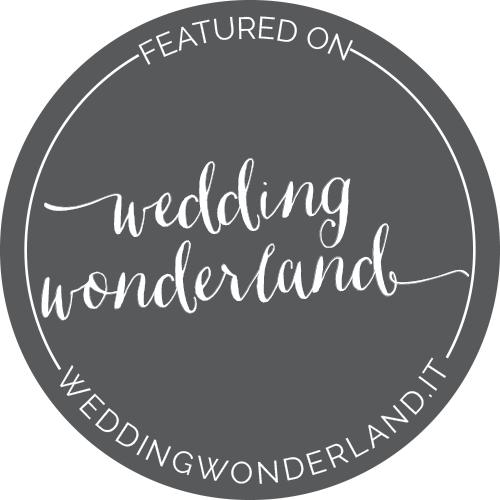 wedding wonderland badge