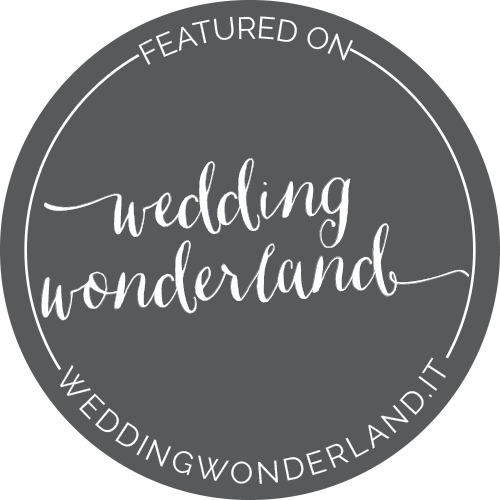 wedding wonderland badge