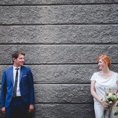 Un matrimonio bucolico e sofisticato