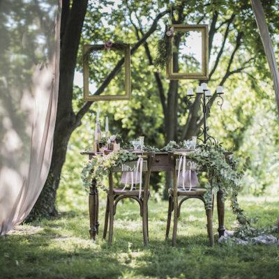 Un matrimonio fatato nel bosco